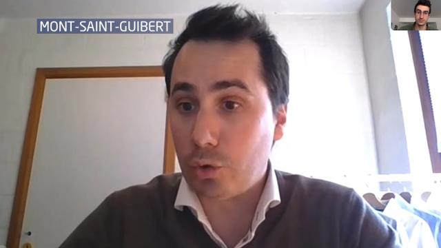 Le mot du bourgmestre : Julien Breuer (Mont-Saint-Guibert)
