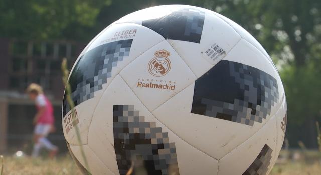 Le Real Madrid s'installe au parc de la Dodaine