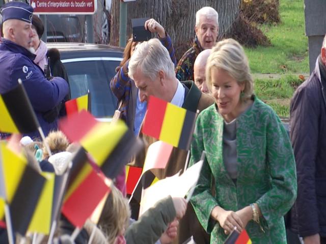 Le Roi et la Reine en visite à Jodoigne