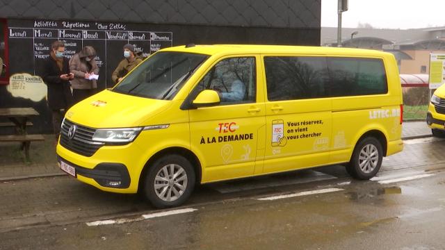 Le service TEC à la demande s'étend à Ottignies et Court-Saint-Étienne