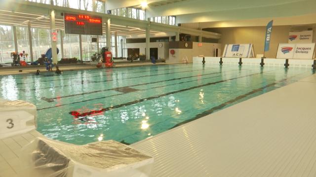 Les bassins sont remplis... la piscine du Paradis à Braine-l'Alleud devrait ouvrir en septembre