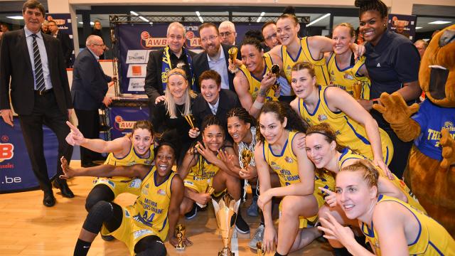Les Castors Braine remportent un 6e titre de Belgique consécutif
