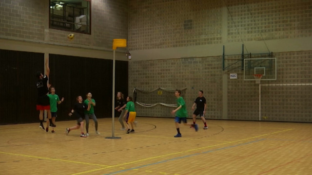 testLes écoles engagées dans un tournoi sportif provincial