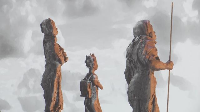 De la terre à la pluie : que racontent ces planches exposées sur la place de Grez-Doiceau?
