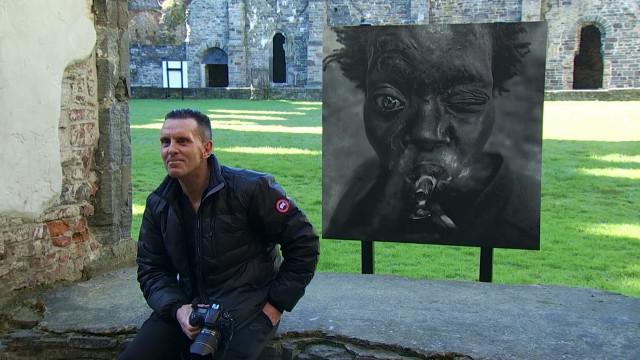 Les portraits puissants de Lee Jeffries exposés à l'Abbaye de Villers-la-Ville