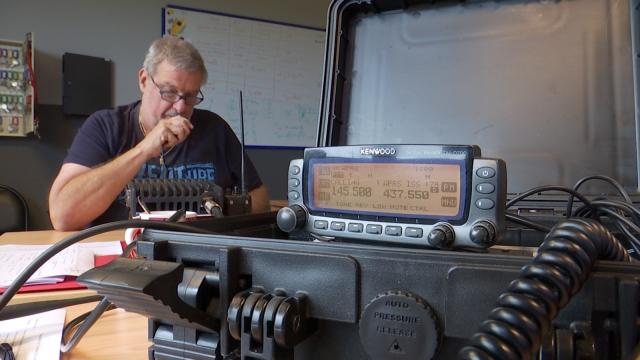 Les radioamateurs au service de la population