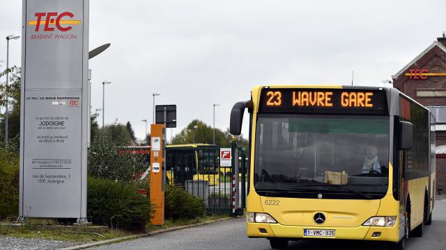 Les TEC durcissent les règles : le nombre de passagers limité dans les bus