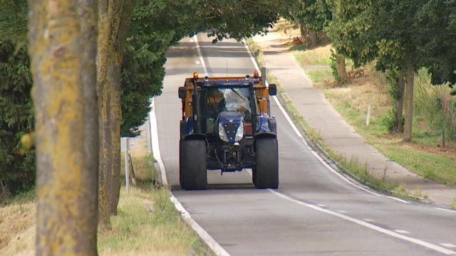 Les tracteurs ne circuleront plus sur la N25 à partir du 1er janvier prochain