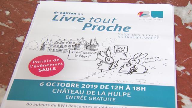 Livre tout proche au Château de La Hulpe ce dimanche 6 octobre