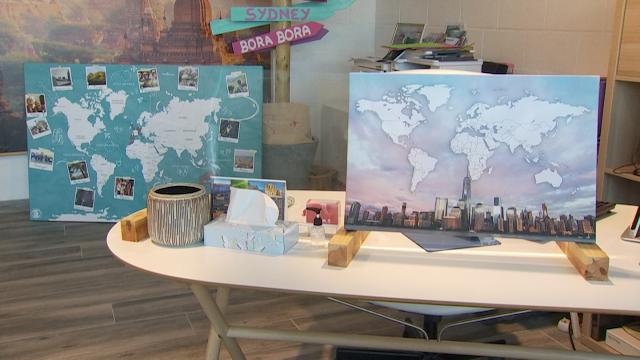 LLN:  des cartes du monde personnalisées pour les nostalgiques du voyage