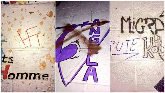LLN : Plusieurs kots à projet vandalisés avec des tags racistes et antisémites