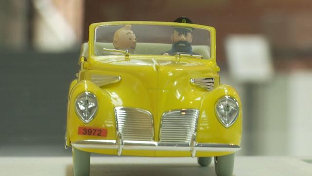 Louvain-la-Neuve : en voiture avec Tintin au Musée Hergé