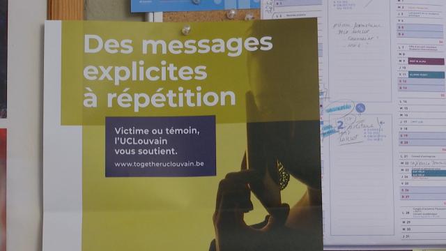 testUCLouvain : les dispositifs de lutte contre les violences sexuelles