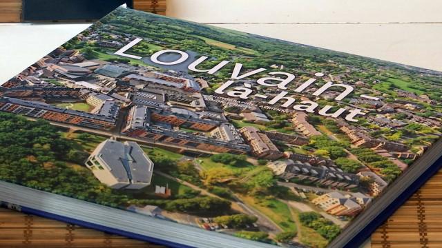 Louvain-la-Neuve vue du ciel