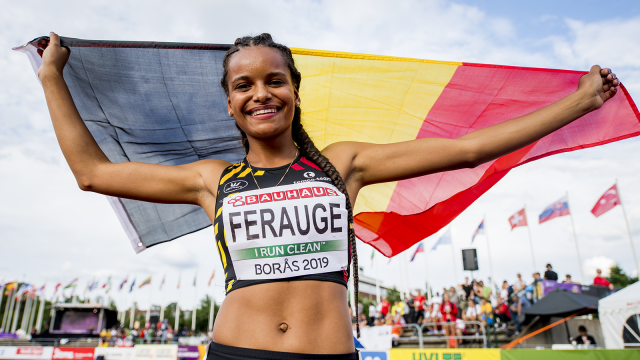 Lucie Ferauge ramène le bronze des championnats d'Europe juniors