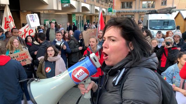 testManifestation contre les violences faites aux femmes à LLN : une réalité du milieu universitaire