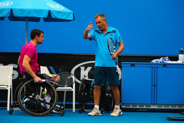 testMarc Grandjean, entraîneur du tennisman en chaise Joachim Gérard, est décédé à 62 ans