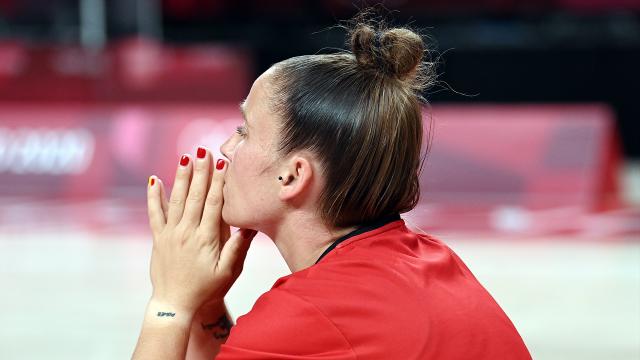 Marjorie Carpréaux suspend sa carrière de basketteuse