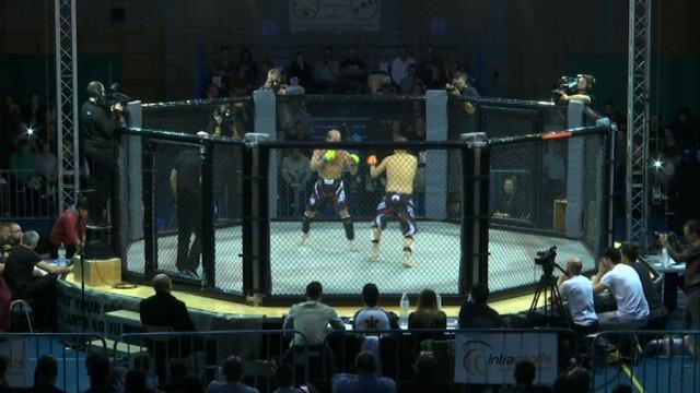 testMMA : des combats spectaculaires dans une cage !