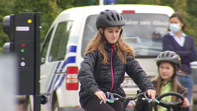 Mont-Saint-Guibert : un circuit pour apprendre à bien rouler à vélo