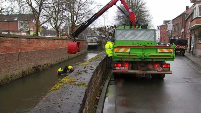Nettoyage de la Dyle : plein de déchets métalliques retrouvés !