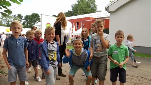 Nivelles : rentrée festive à l'école communale de la Maillebotte