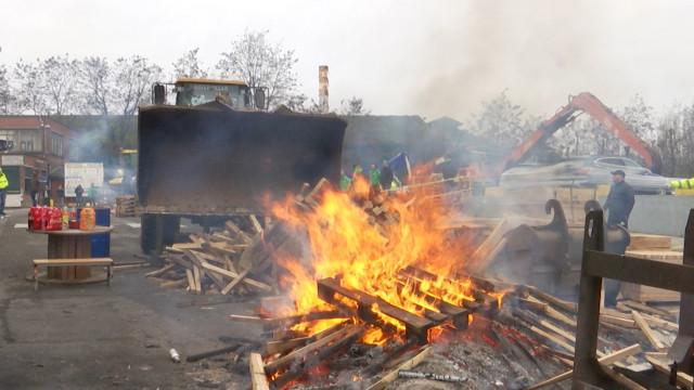 NLMK Clabecq : visite de soutien d'une délégation d'ArcelorMittal