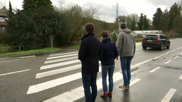 testNouvel accident sur la N275 à Tangissart : Les riverains et parents en ont marre