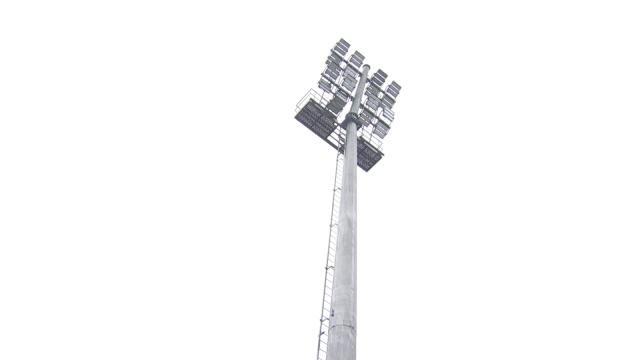 La piste d'athlétisme du stade de la Dodaine tient son nouvel éclairage