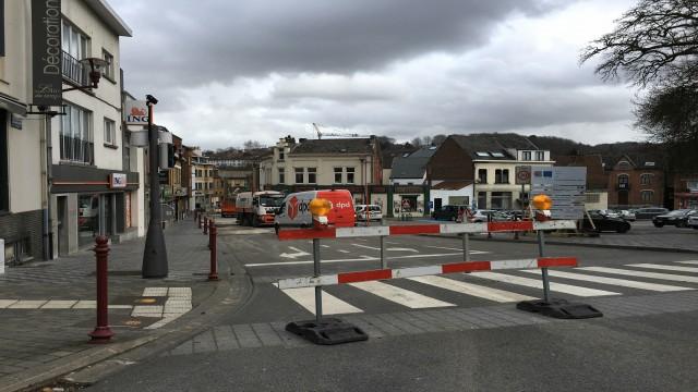 Ottignies : à nouveau des travaux à l'avenue Reine Astrid