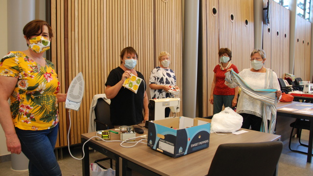 testOttignies distribuera ses premiers masques aux aînés le 12 mai