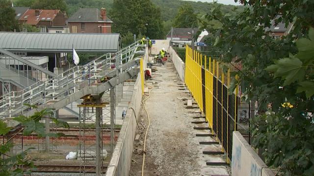 Ottignies : La passerelle de la gare va disparaître