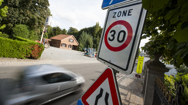 Ottignies-LLN : la vitesse bientôt réduite à 30km/h dans le centre, 50 sur les boulevards