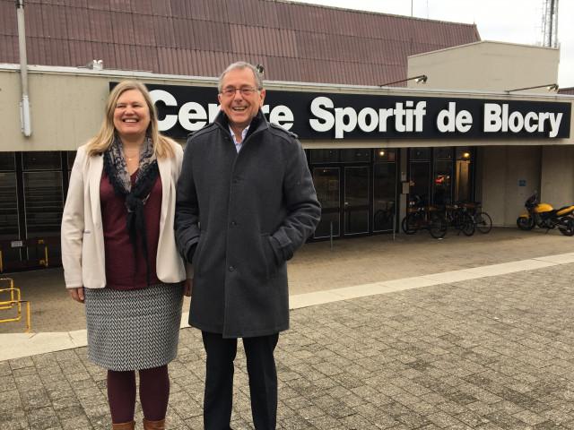 Ottignies-LLN : Yves Leroy et Nadine Fraselle sur la liste Avenir