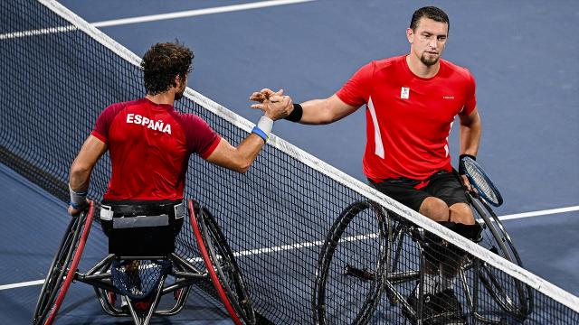 Paralympiques : Joachim Gérard s'incline en huitièmes de finale