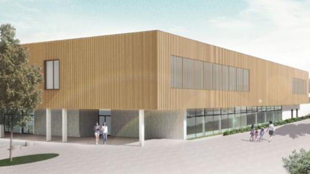 testPermis accordé pour le futur Hall Sportif de la Gadale à Jodoigne