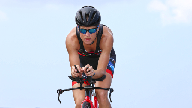 Première compétition internationale et podium pour Alexandra Tondeur