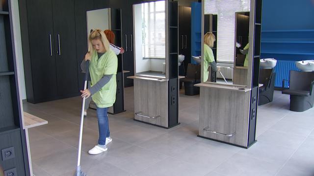 testDerniers préparatifs de rentrée à l'ITP de Court-Saint-Étienne