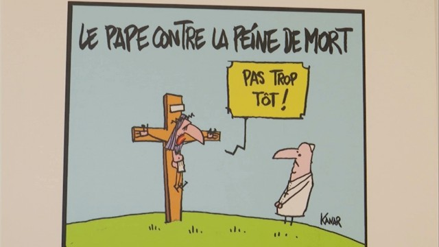 testPress Cartoon Belgium : le dessin de presse à l'honneur à Wavre