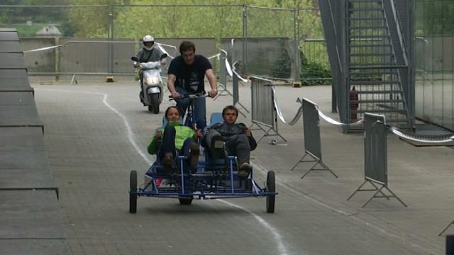 test24H Vélo: des ingénieurs au grand coeur créent un vélo pour les PMR