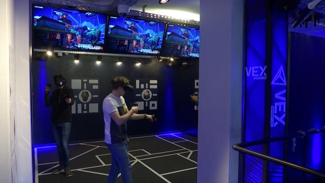 testRéalité virtuelle: la plateforme de jeu VEX Arena à LLN, une première en Europe