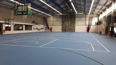 testRebecq : un sol flambant neuf pour la réouverture du Hall Omnisports ce lundi 15 juin