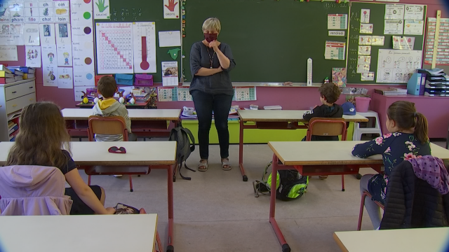 Rentrée des classes : les élèves de 1ère et 2ème primaire présents en nombre