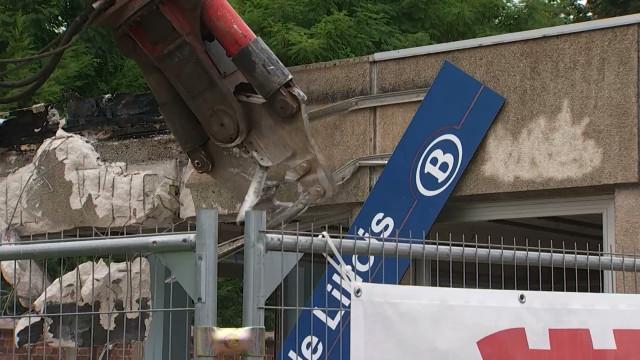 RER: démolition de la gare de Lillois pour élargir les voies