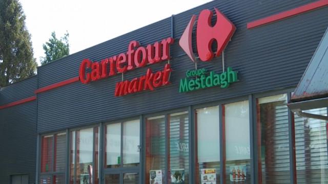 testRestructuration Mestdagh : 10 magasins en grève dans le Bw