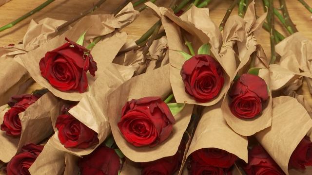 Saint Valentin : Le Sacré Coeur de Nivelles se met au vert pour les roses
