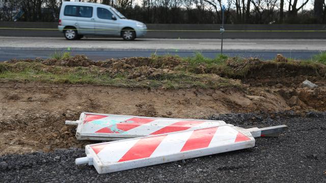 Soulèvements de chaussée sur la N25 : circulation rétablie ce mardi vers Nivelles