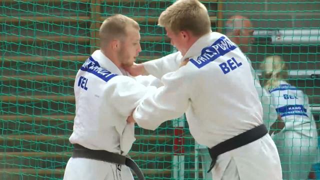 """testStage de judo de Cédric Taymans : le rendez-vous des """"grands"""" judokas"""