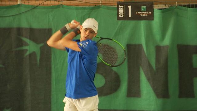 testLa crème du tennis belge chez les jeunes était réunie à l'Argayon