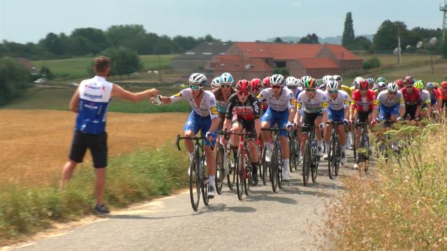 Démare nouveau leader — Tour de Wallonie